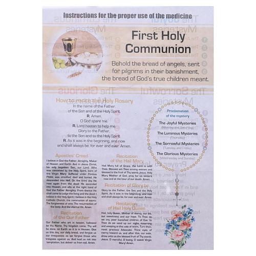 Rosario Sacramenti della Vita Cristiana Comunione INGLESE 5