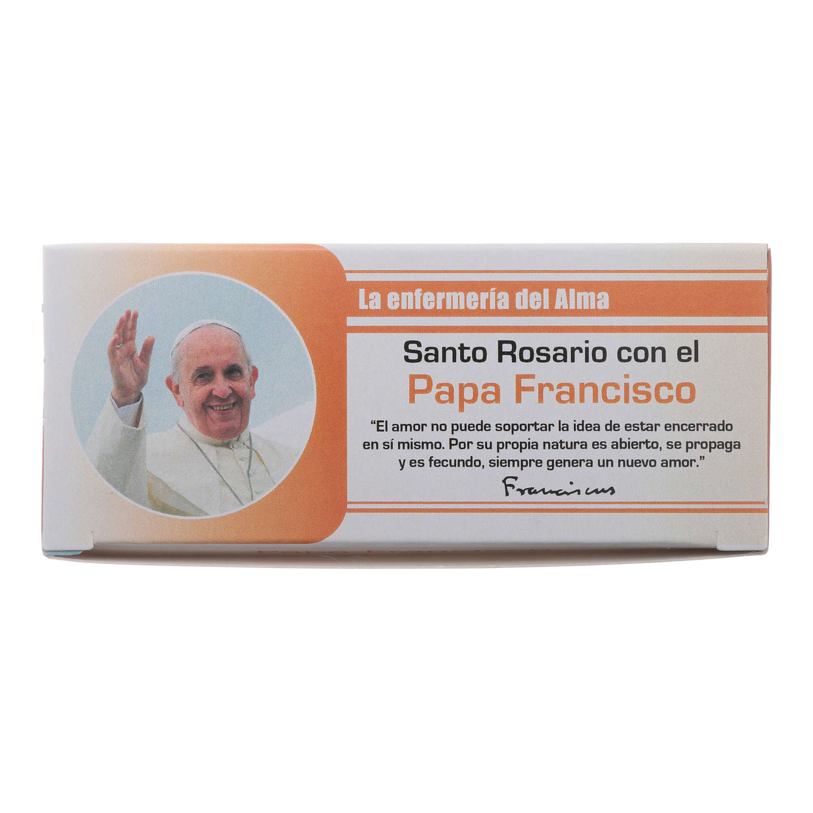 Rosary Nurse of the Soul Pope Francis in SPANISH 4
