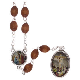 Our Lady of Sorrows rosary metal chain s2