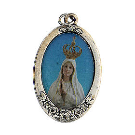 Różaniec Madonna Pielgrzymująca z Fatimy koraliki białe imitacja pereł 5 mm - Kolekcja Korony Wiary 3/47 s4