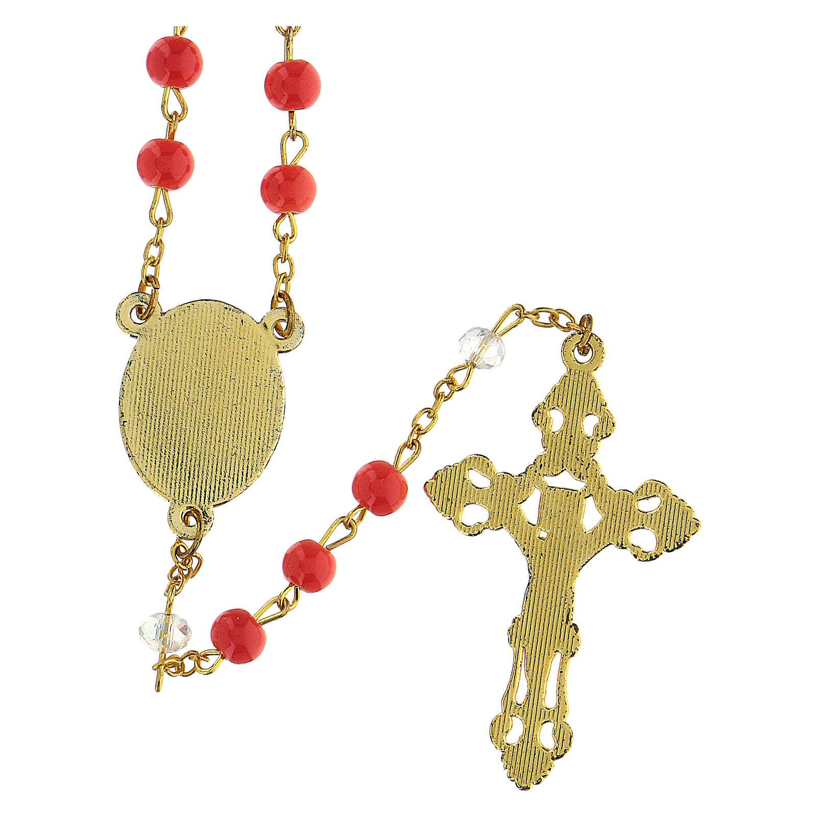 Różaniec Matka Boża z Góry Karmel koraliki 6 mm - Kolekcja Korony Wiary 7/47 4