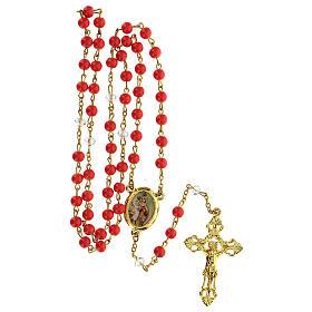 Różaniec Matka Boża z Góry Karmel koraliki 6 mm - Kolekcja Korony Wiary 7/47 s5