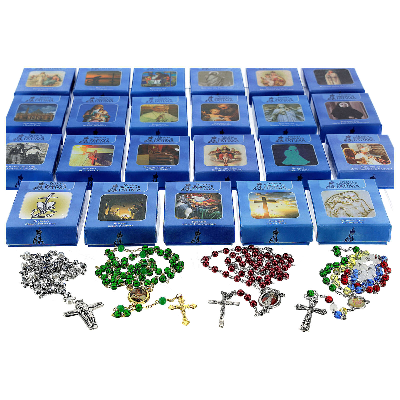 FULL COLLECTION - Faith Collection with 47 ROSARIES 4