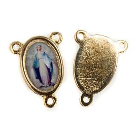 Pieza central metal dorado Virgen Milagrosa s1
