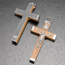 Rosary wooden crucifix and metal body of Chris s3