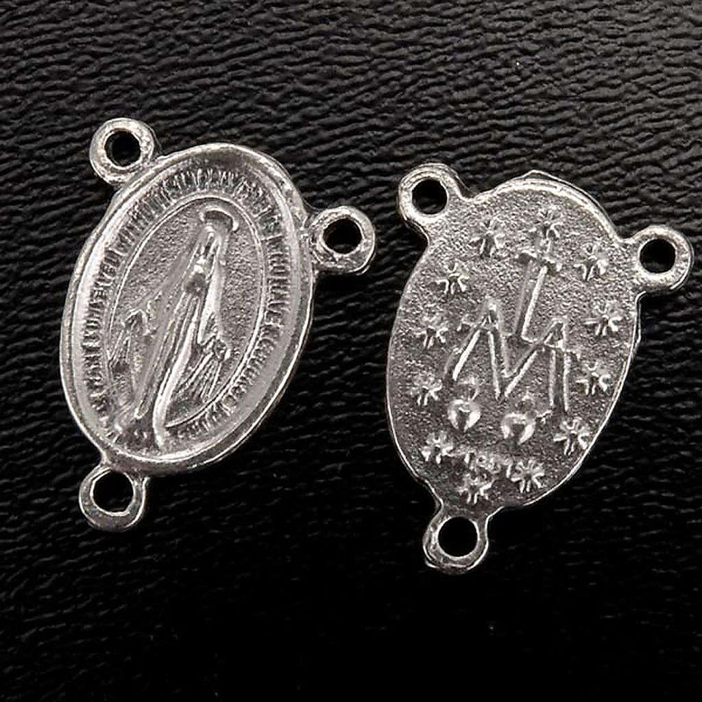 Pieza central metal medalla milagrosa para la fabricación 4