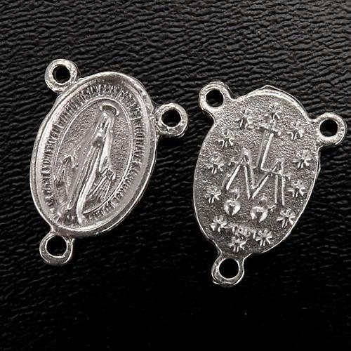 Pieza central metal medalla milagrosa para la fabricación 2