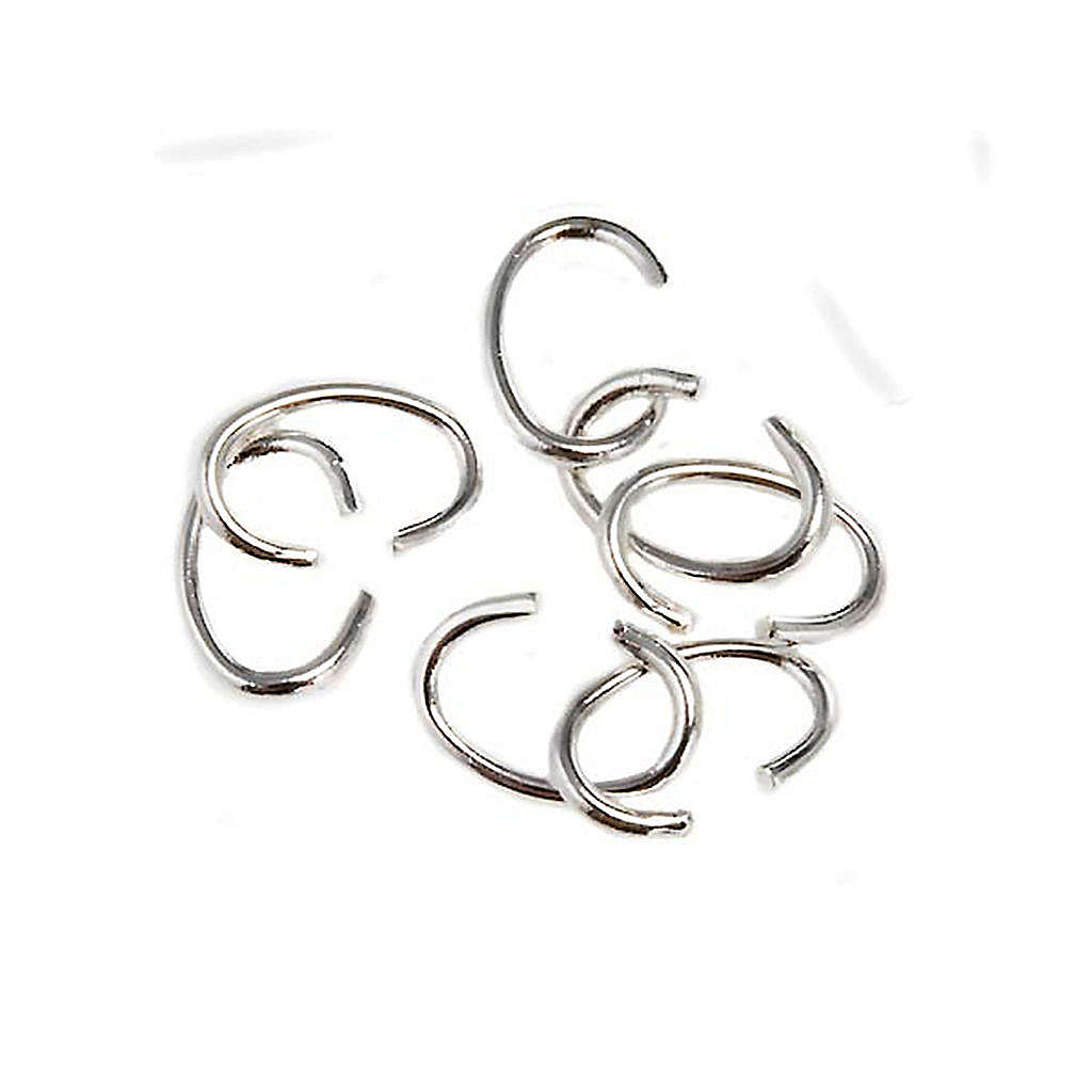 Open jump Rings for making rosaries 4
