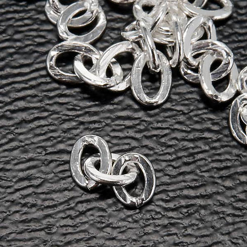 Cadena para cuello 3 eslabones para rosarios 3