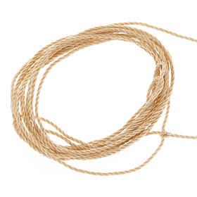 Corde beige pour chapelets à faire soi-même s1