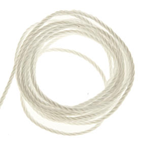 Corda bianca per rosari fai da te s1