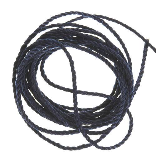 Corde bleue foncé pour chapelets 1