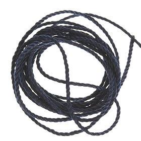 Corda blu scuro per rosari fai da te s1