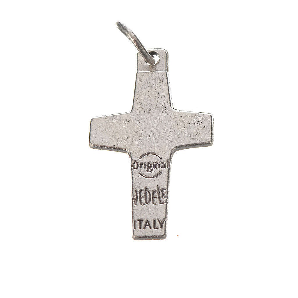 Pope Francis cross, 2x1.4cm, metal 4