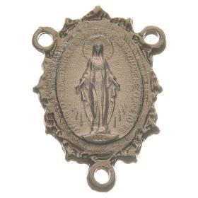 Chapelet à faire soi-même: Médaille Vierge zamac or