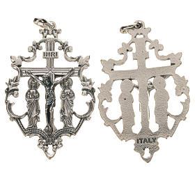 Crucifix with two Saints 5.5cm s1
