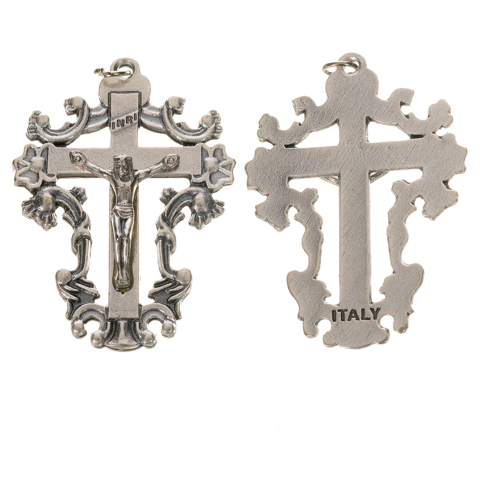 Decorated crucifix 4.3cm 4