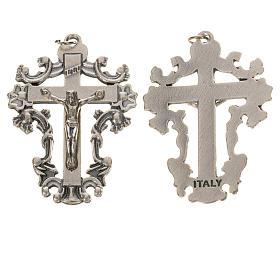 Chapelet à faire soi-même: Crucifix travaillé 4,3 cm