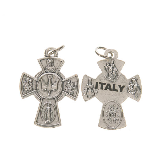 Confirmation cross, saints and Holy Spirit 1