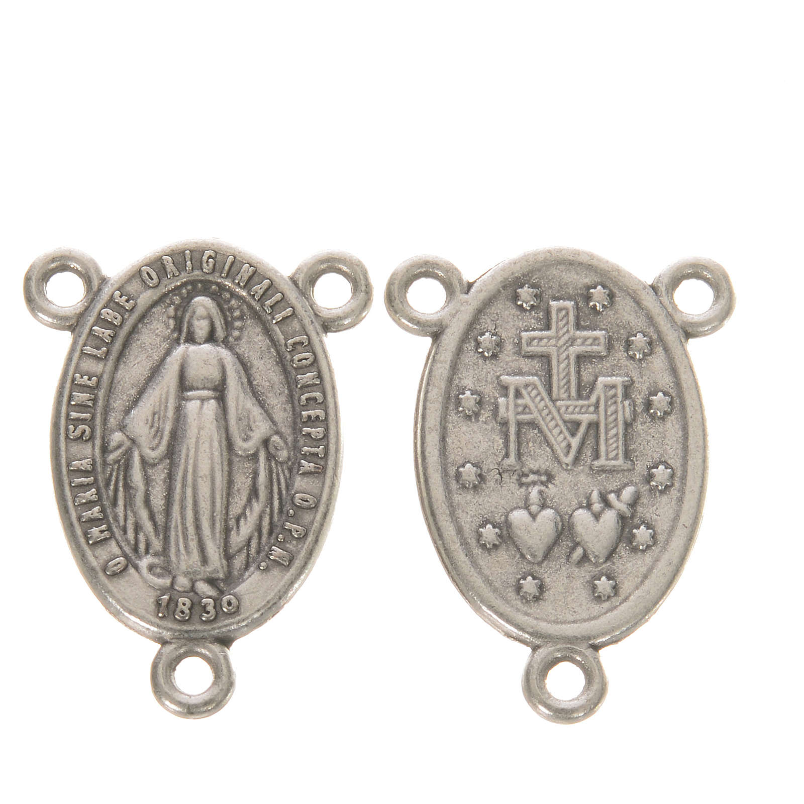Medal with Miraculous Madonna 4