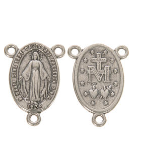 Medal with Miraculous Madonna s1