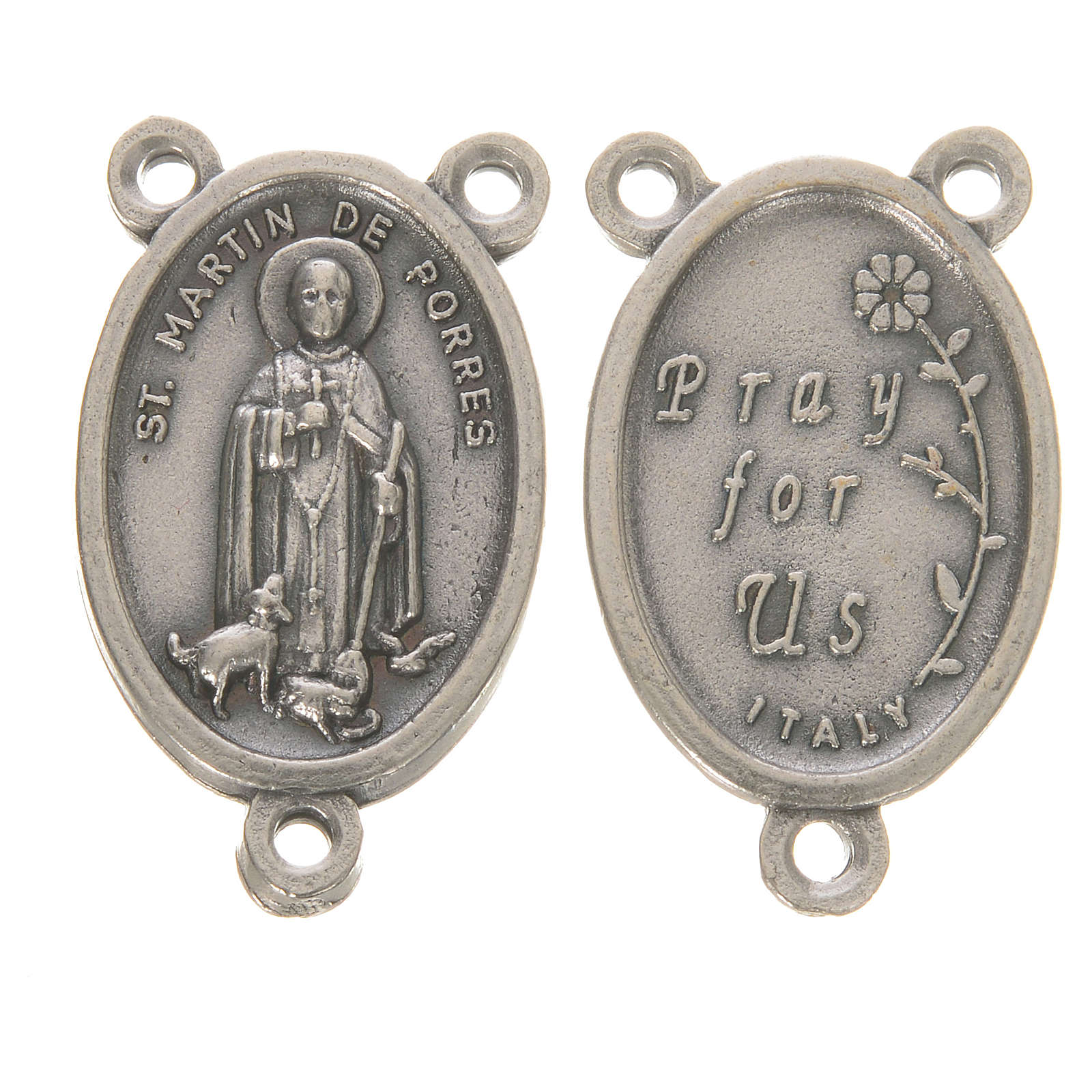 Medal with Saint Martin de Porres 4