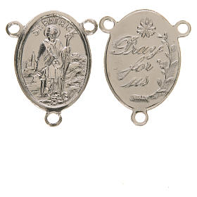 Peças para Montagem de Terços: Medalha São Patrício