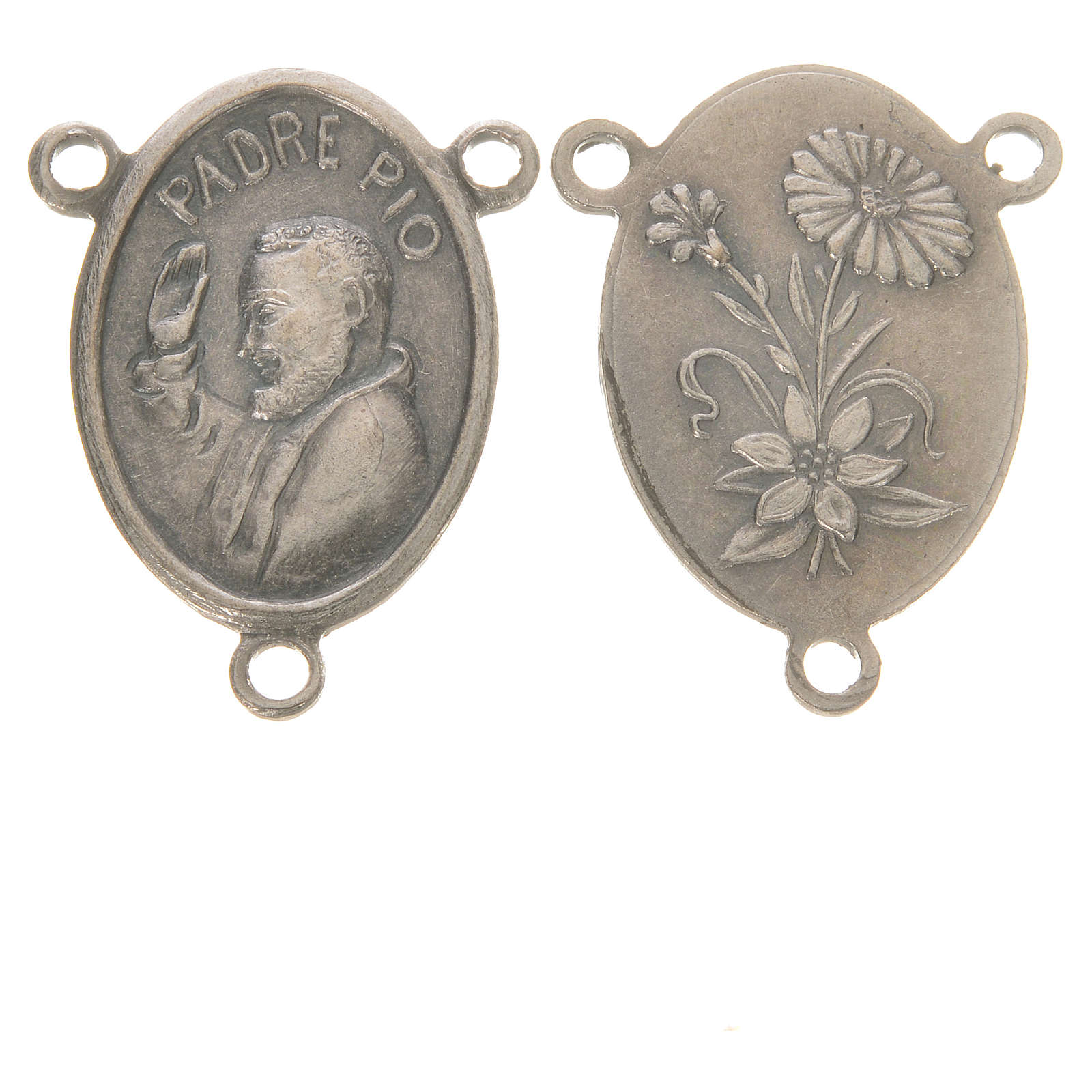 Medal with Padre Pio 4