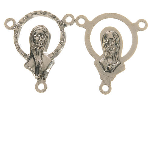 Medal with Our Lady, clasped hands 1