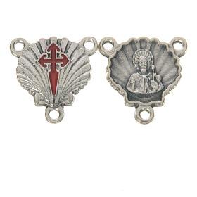 Peças para Montagem de Terços: Medalha Apóstolo Santiago