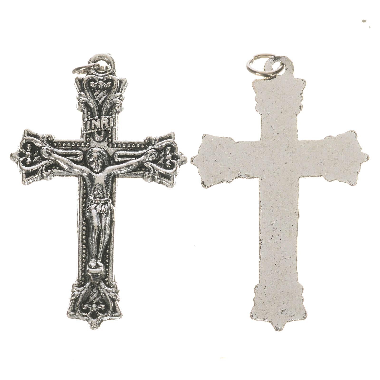 Crucifijo de metal 3,7 cm 4