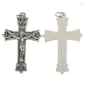 Crucifijo de metal 3,7 cm s1