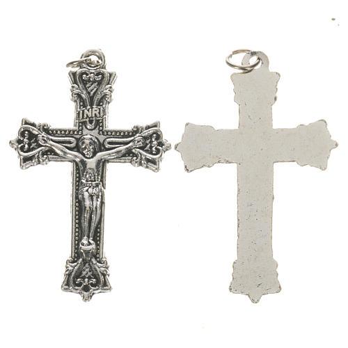 Crucifijo de metal 3,7 cm 1