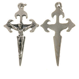 Rosary parts: Santiago crucifix with ring 4.1cm