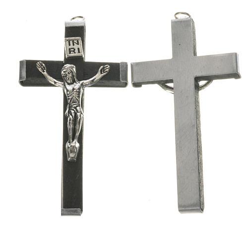 Croix en bois 5,7 cm noir 1