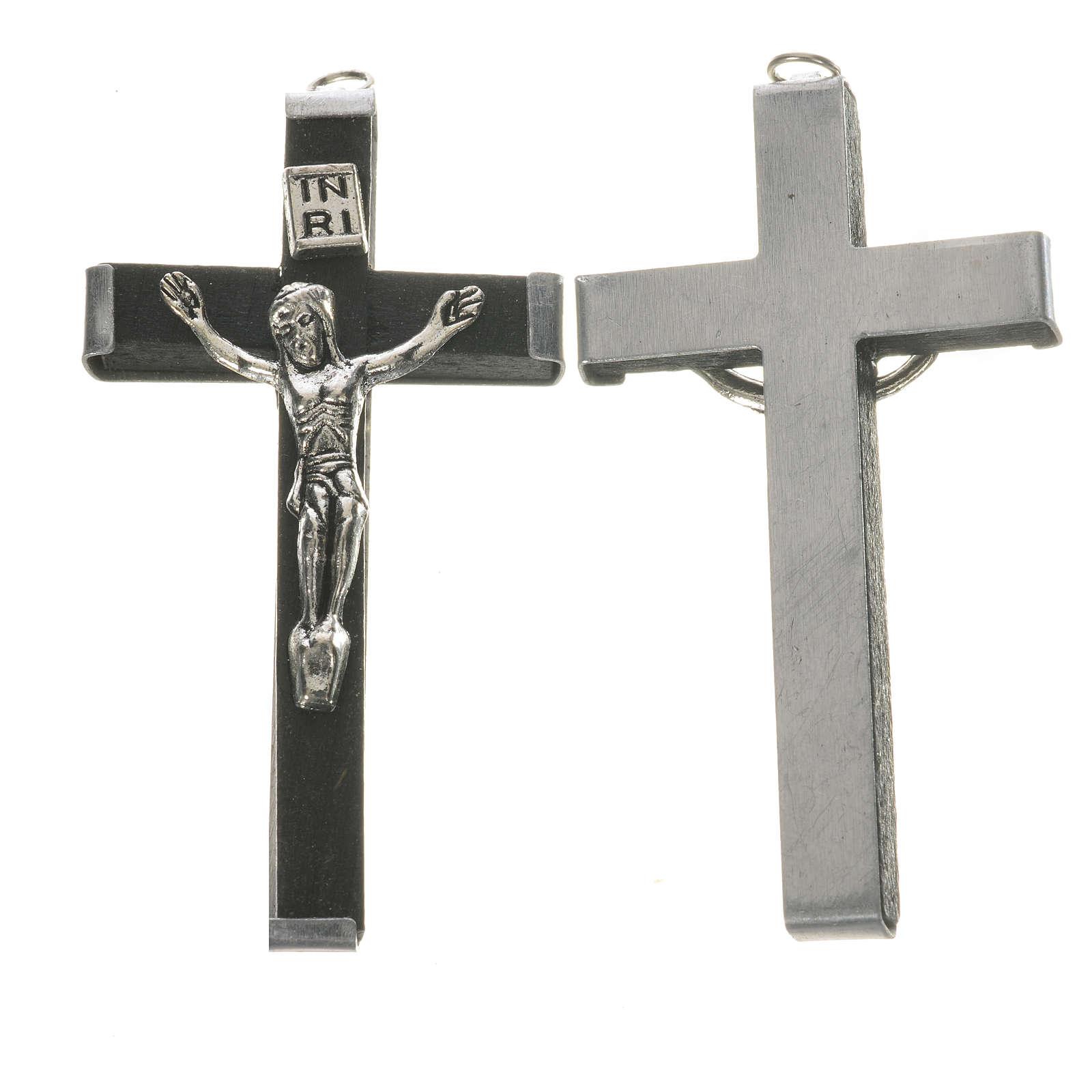 Croce in legno 5.7 cm nero 4