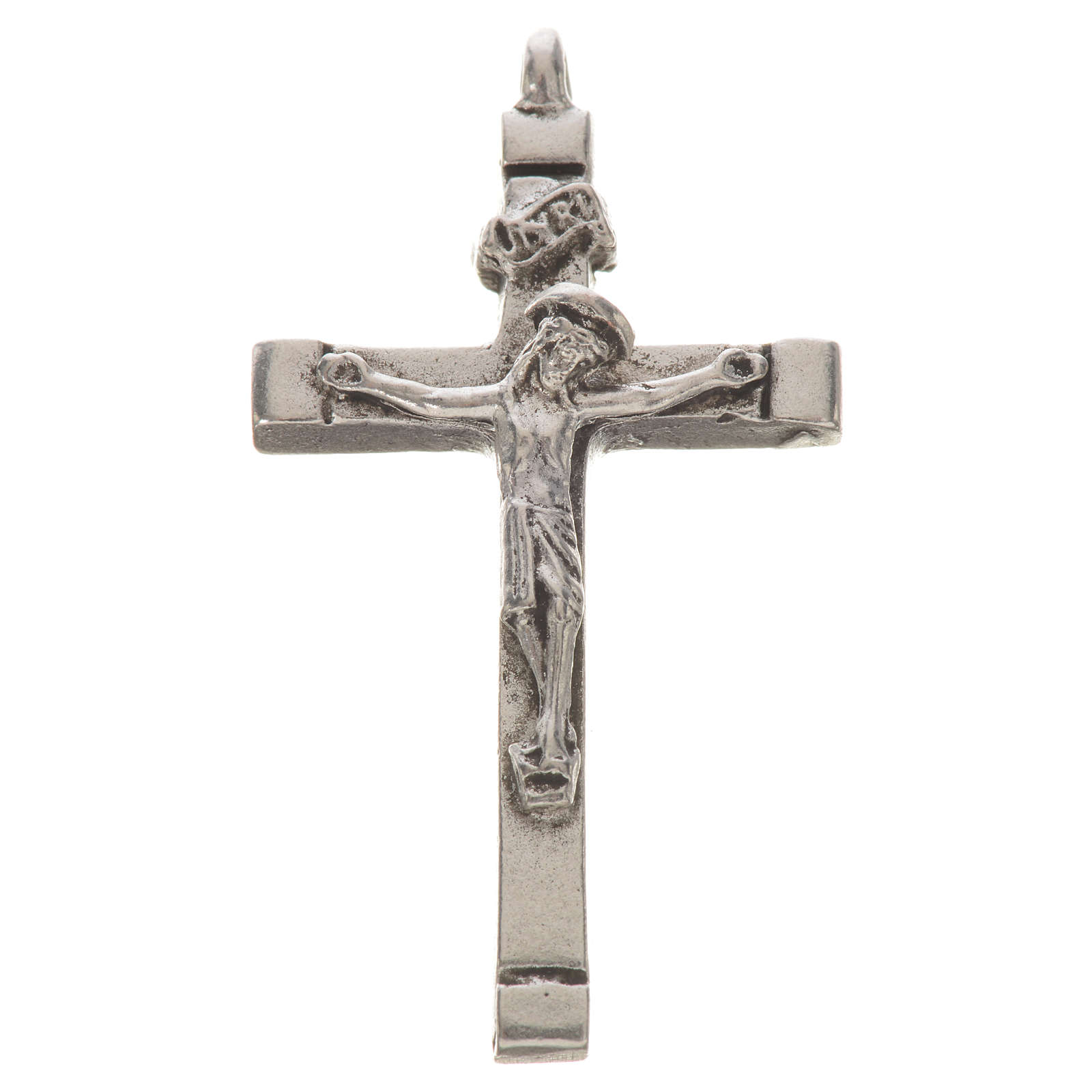 Byzantine crucifix in zamak for do-it-yourself rosaries 4