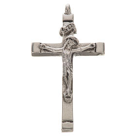 Rosary parts: Byzantine crucifix in zamak for do-it-yourself rosaries