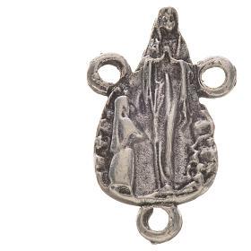 Chapelet à faire soi-même: Médaille profilée en zamac Notre-Dame de Lourdes