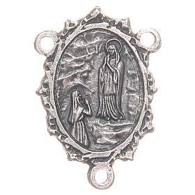 Rosario Hecho por TI: Pieza central Virgen de Lourdes Santa Bernadette