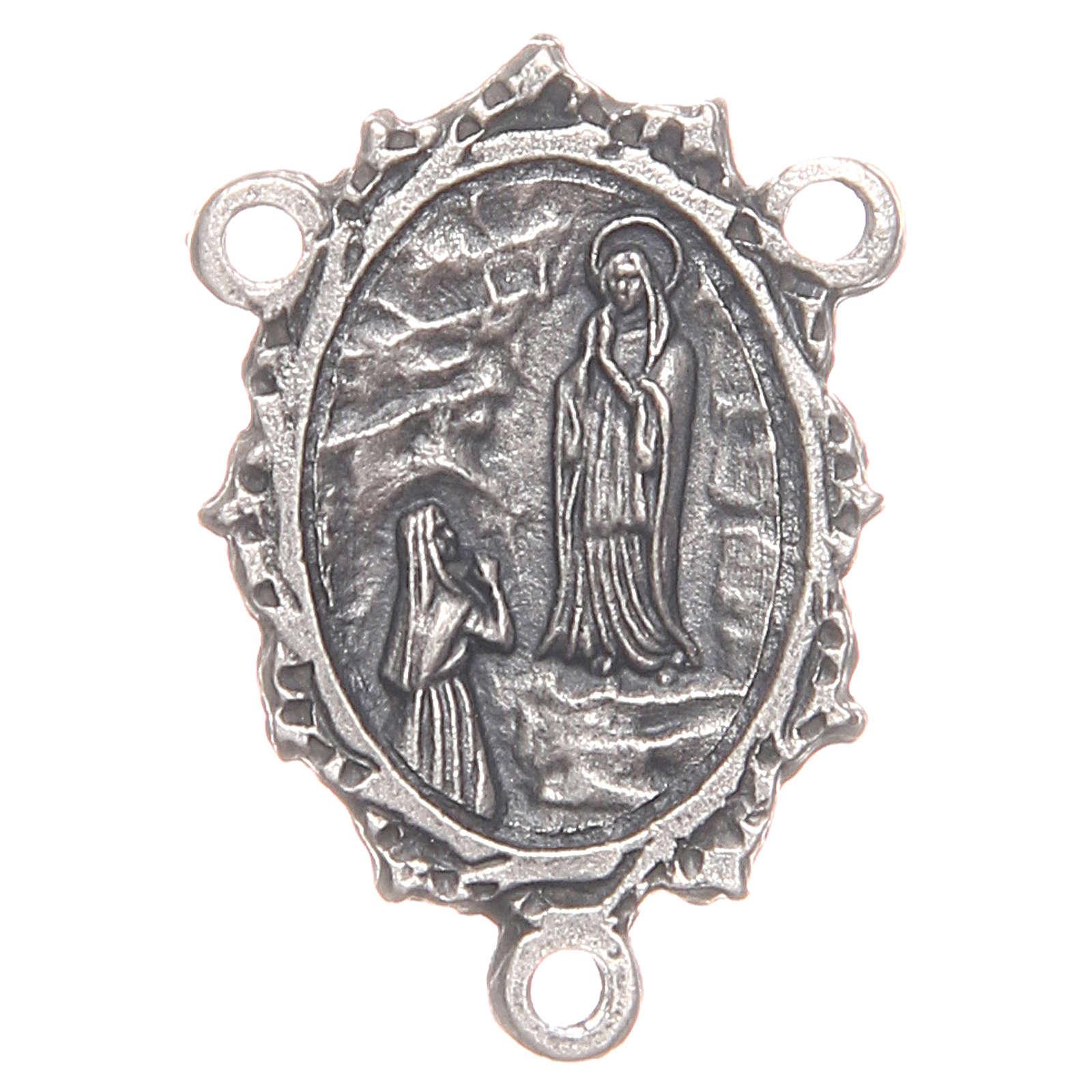 Médaille pour chapelet Notre-Dame de Lourdes Ste Bernadette 4