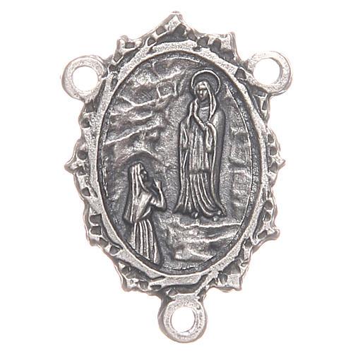 Médaille pour chapelet Notre-Dame de Lourdes Ste Bernadette 1