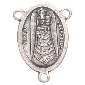 Mittelstück für Rosenkranz, Muttergottes von Loreto und Heilige Familie s1