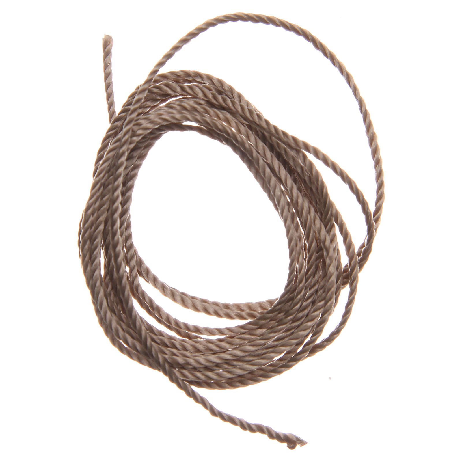 STOCK Beige rope for do-it-yourself rosary 4