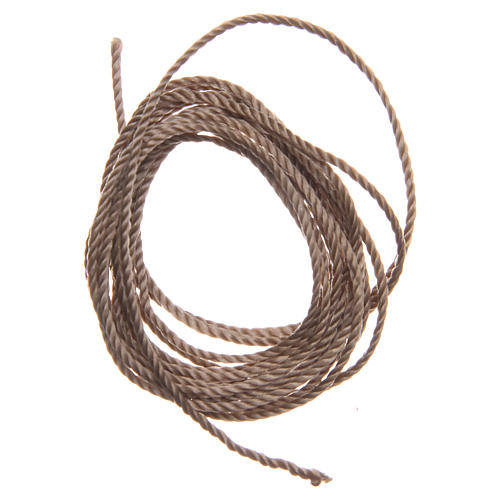 STOCK Beige rope for do-it-yourself rosary 1