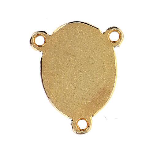 Médaille Vierge à l'Enfant émaillée 2