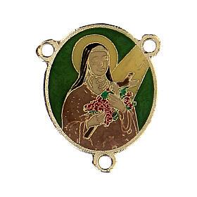 Passador esmaltado Santa Teresinha do Menino Jesus s1