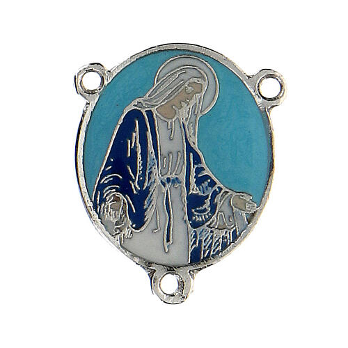 Enamelled pendant Our Lady of Miracles 1