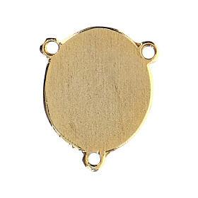 Médaille émaillée Padre Pio s2