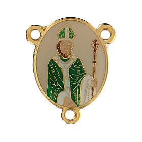 Łącznik Święty Patryk emaliowany s1